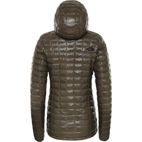 The North Face Eco ThermoBall Hoodie Jacke Damen new taupe green